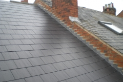 Fibre Cement Roof with Lead Flashings